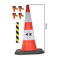thumb-Skipper ensemble cônes 81 m2 BIG avec Bigfoot cônes de 100 cm et enrouleurs à sangle Skipper-2