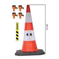 thumb-Skipper ensemble cônes 81 m2 BIG avec Bigfoot cônes de 100 cm et enrouleurs à sangle Skipper-3
