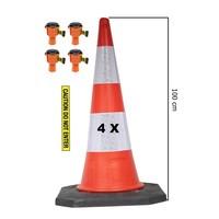 thumb-Skipper ensemble cônes 81 m2 BIG avec Bigfoot cônes de 100 cm et enrouleurs à sangle Skipper-4