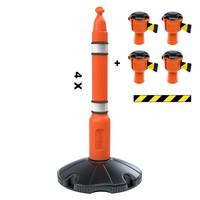 thumb-Skipper ensemble poteaux 81 m2 avec poteaux de ballisage et enrouleurs à sangle Skipper-4