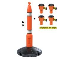thumb-Skipper ensemble poteaux 81 m2 avec poteaux de ballisage et enrouleurs à sangle Skipper-6