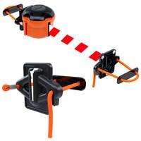 thumb-Skipper kit échafaudage - barrière à sangle de 9 mètres-1