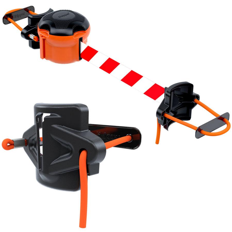 Skipper kit échafaudage - barrière à sangle de 9 mètres-4