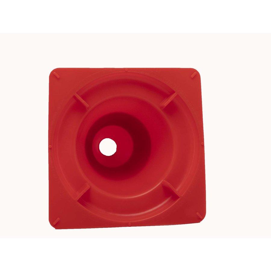Verkeerskegel PVC - 30 cm hoog - Klasse 2-5