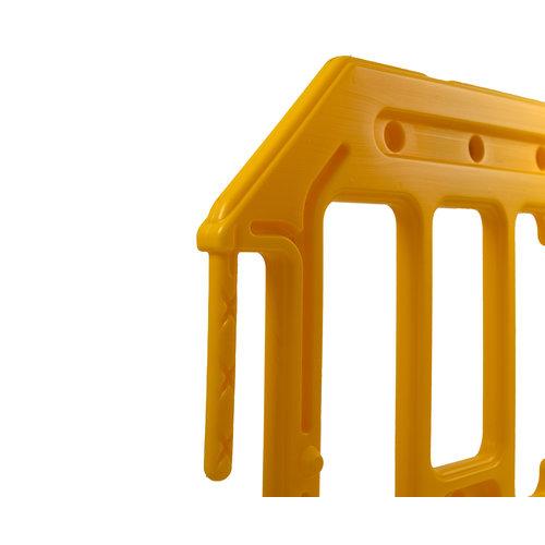 Werfhek GATEBARRIER - geel