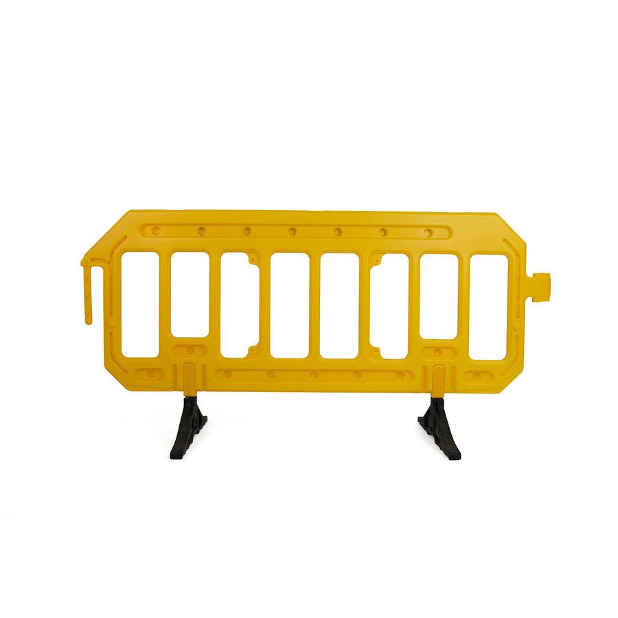 Werfhek GATEBARRIER - geel - 1000 x 2000 mm-4