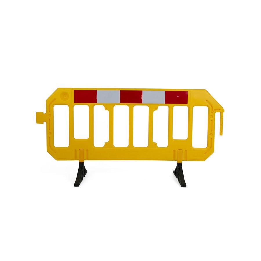 Werfhek GATEBARRIER - geel - 1000 x 2000 mm-1