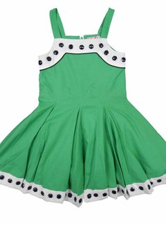 LoFff SUPERAANBOD: Klokkende groene zomerjurk
