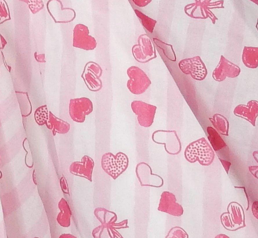 Feestjurk fuchsia roze van LoFff zomer, maat 152/158
