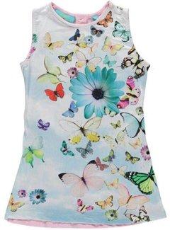 Very Lovely Girls - VLG Mouwloos vlinderjurkje