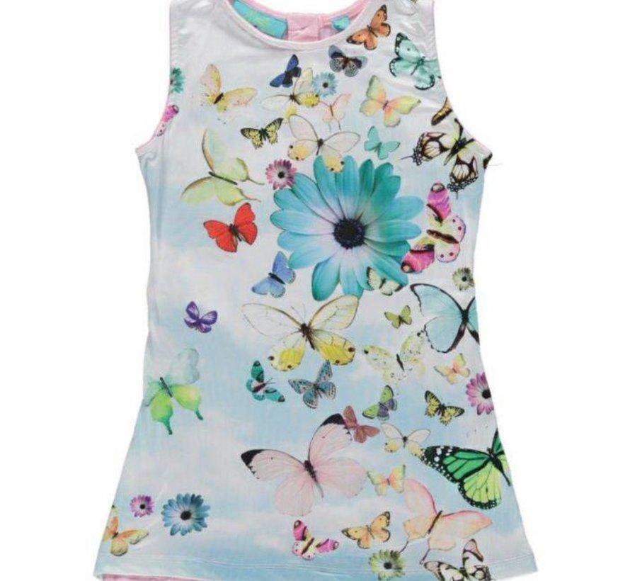 Mouwloos vlinderjurkje van Very Lovely Girls