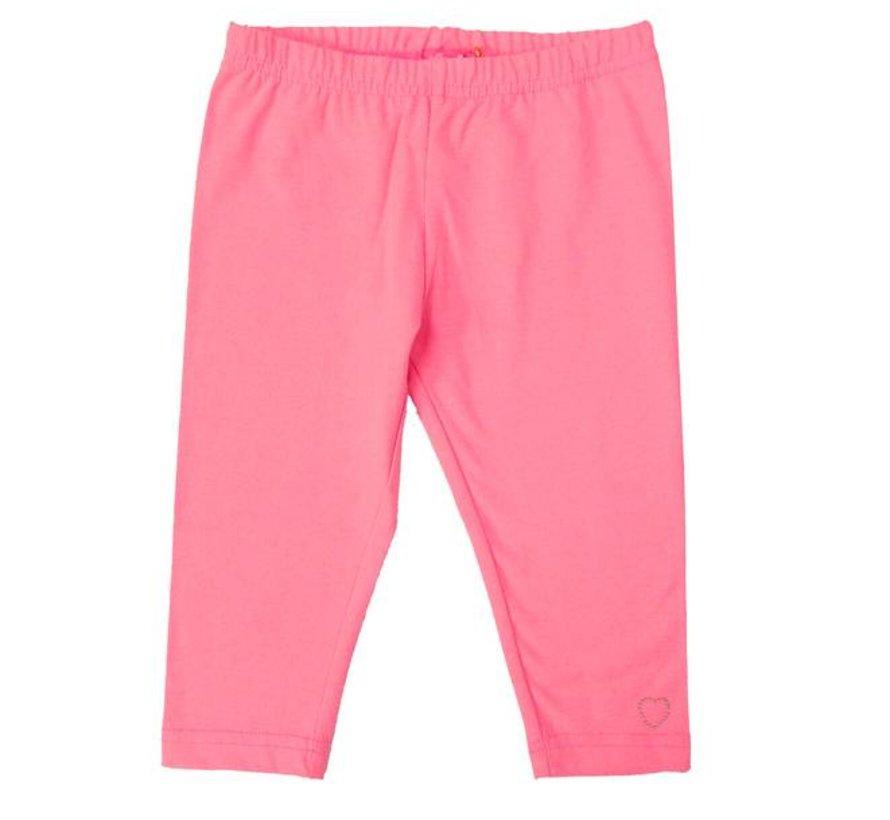 Legging driekwart in pink neon van LoFff uit de zomercollectie 2017