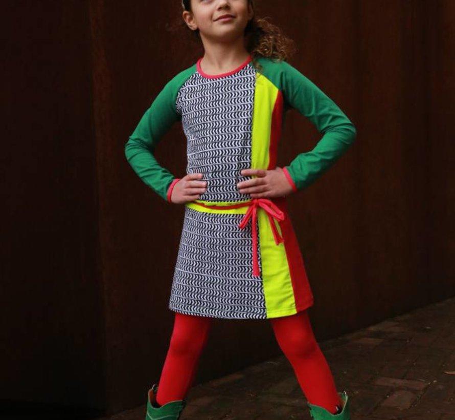 Jurk Francesca, multicolor, Lovestation22
