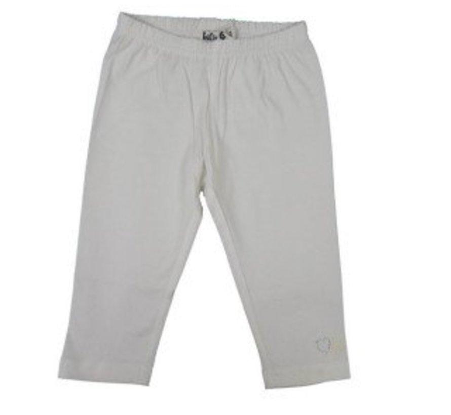 Legging 3/4 gebroken wit van  LoFff