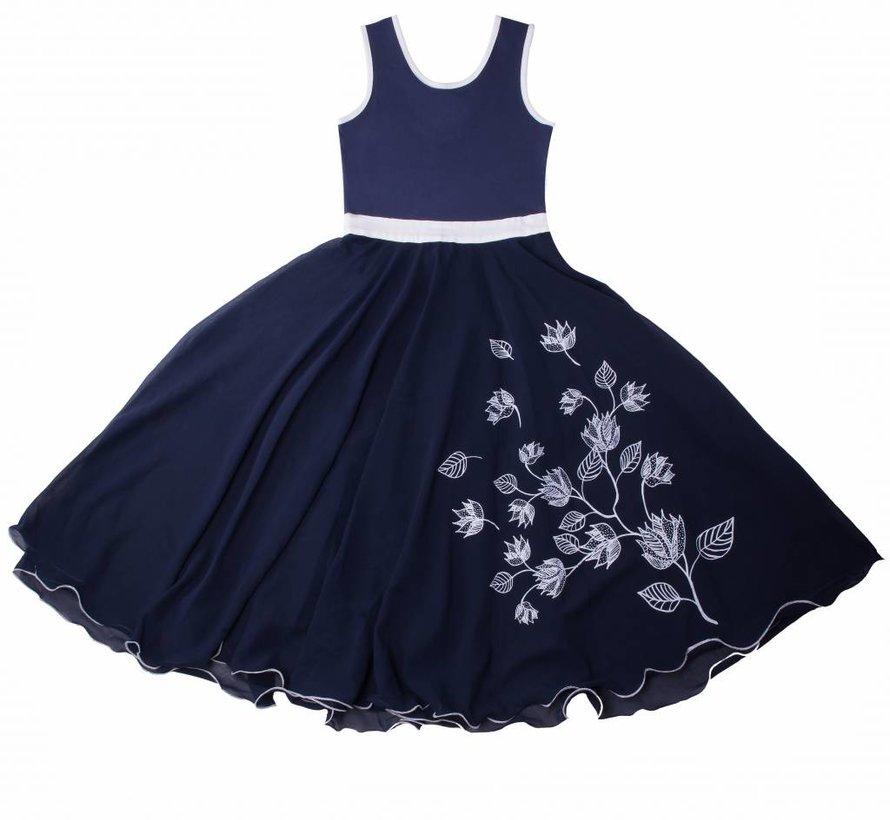 Maxi jurk blauw van  LoFff