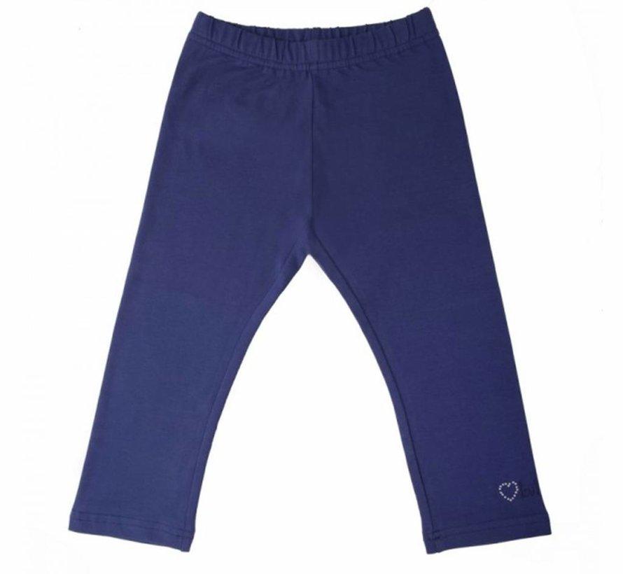 Blauwe legging driekwart van  LoFff zomer