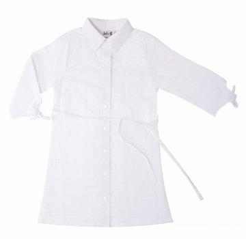 LoFff Wit overhemd jurkje