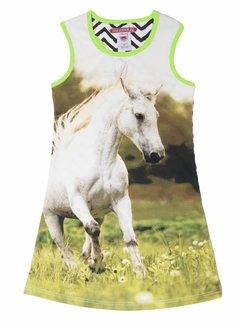 LoveStation22 Zomerjurkje 'Emma' paard, maat 86/92