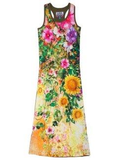 LavaLava Maxi jurk Maledives bloemen