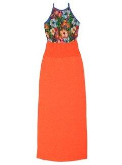 LavaLava Maxi jurk Laos Hibiscus