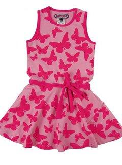 Happy nr 1  Vlinderjurkje roze,