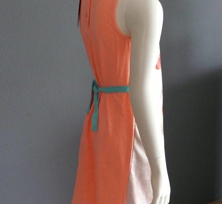 Flamingo jurkje, Very Lovely Girls, maat 104