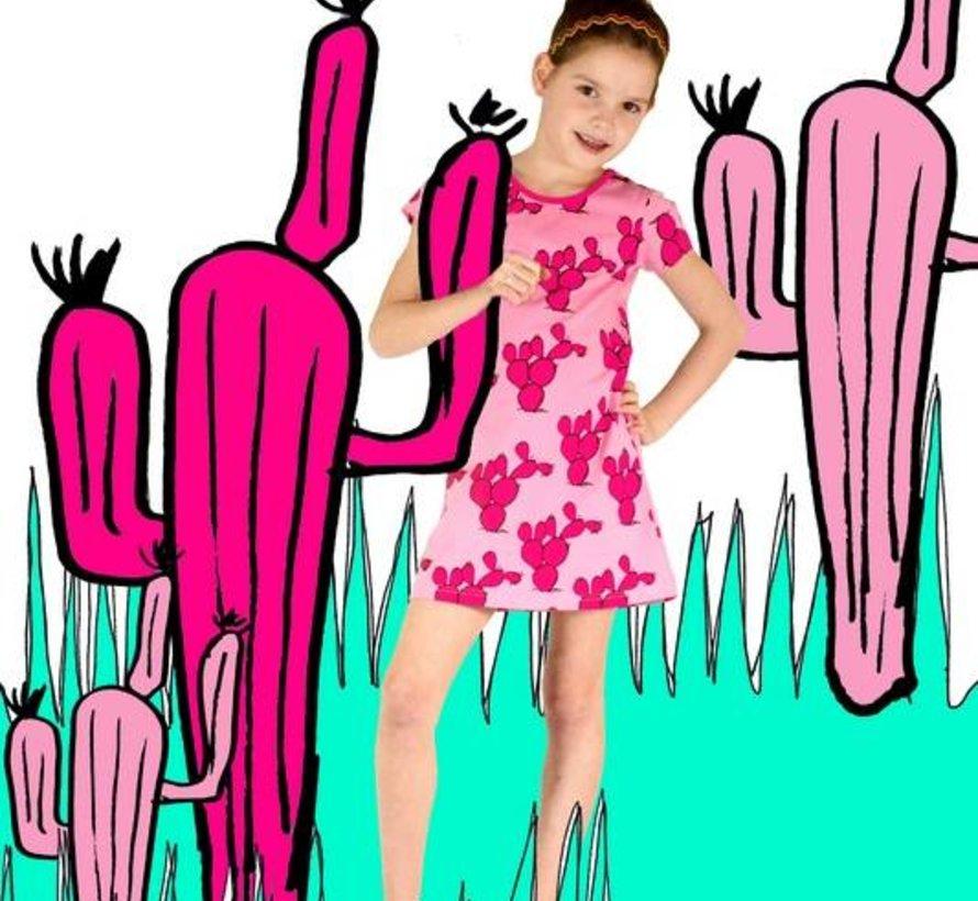 Jurkje cactus,  roze,  Happy nr 1, zomer 2018