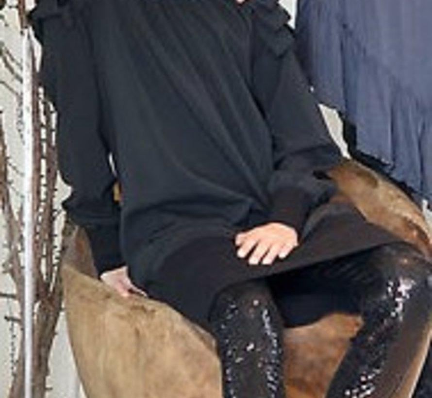 zwart feestjurkje van Frankie & Liberty