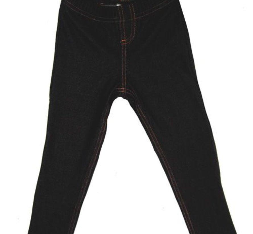 Stoere leeging in jeans uitstraling (jegging)