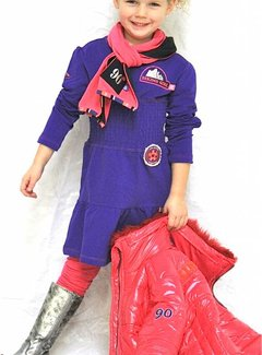 Another World Meisjesjurkje in paars violet, maat 152/158