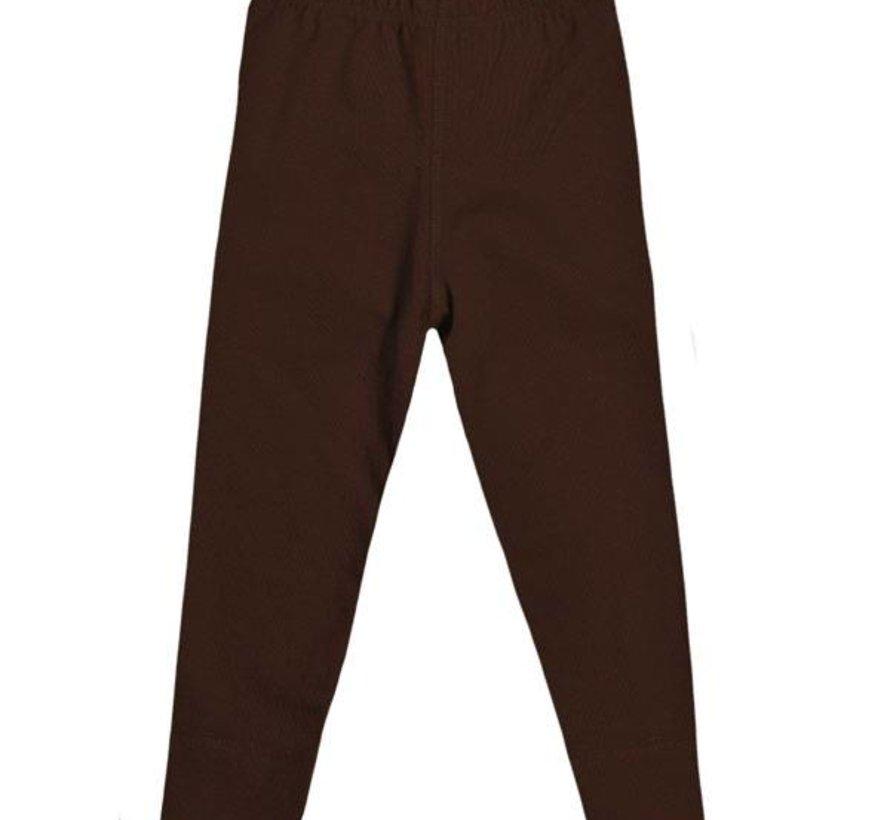 Bruine legging van JNY, mt 104