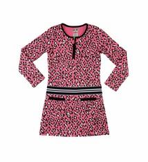 LoFff Panther jurkje neonroze