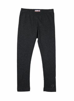LoFff Legging lang grijs melange