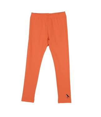 LoveStation22 Legging lang neon coral/oranje
