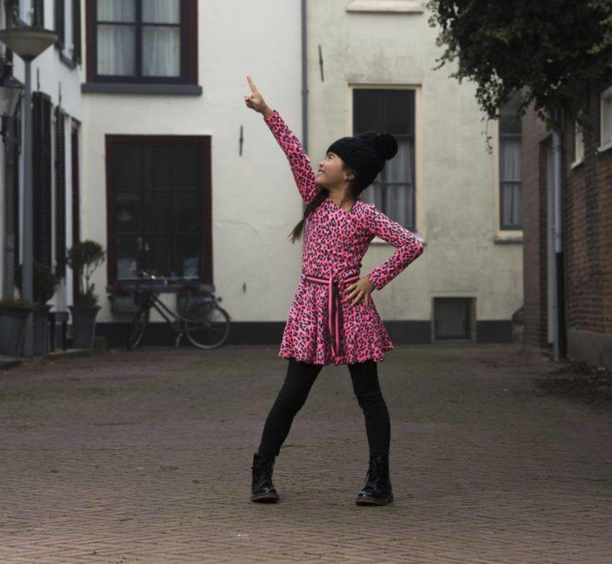 Panther dansjurkje roze