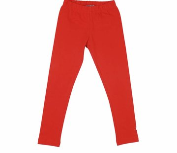 LoveStation22 Legging lang rood coral