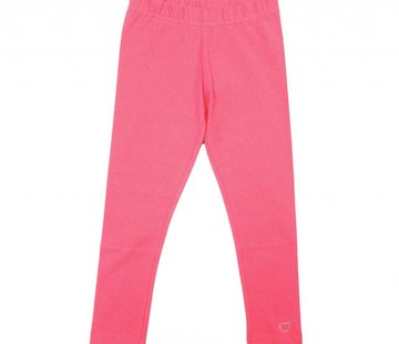 LoFff Legging lang roze neon pink coral