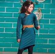 LavaLava Jurkje wol look  a-symmetrisch