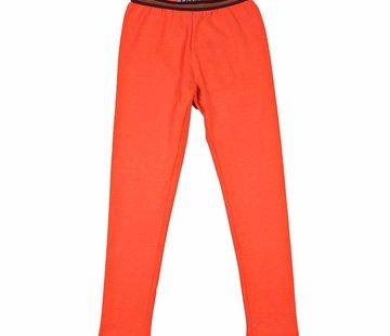 LavaLava Legging lang coral oranje