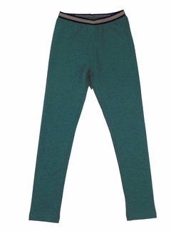 LavaLava Legging lang petrol (groenblauw)