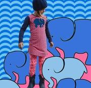Happy nr 1  Jurk olifant met ribbels