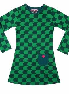 Happy nr 1  Groen jurkje