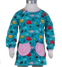 JNY Design tuniek jurkje met vogeltjes, maat 98