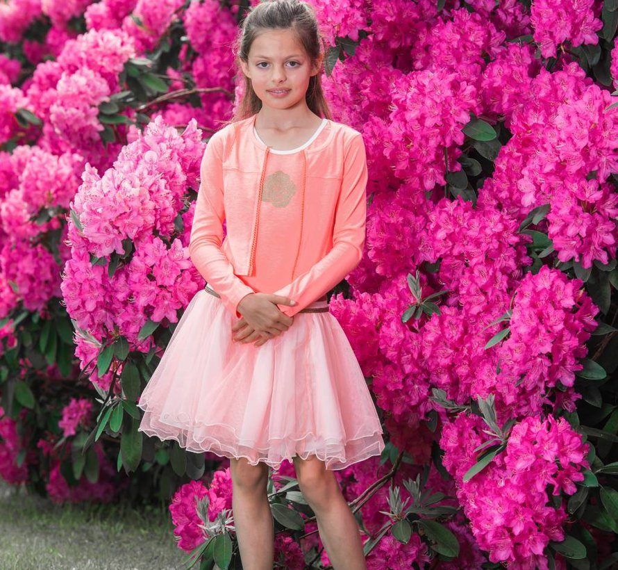 Peach vestje  van Lofff voorjaar 2019