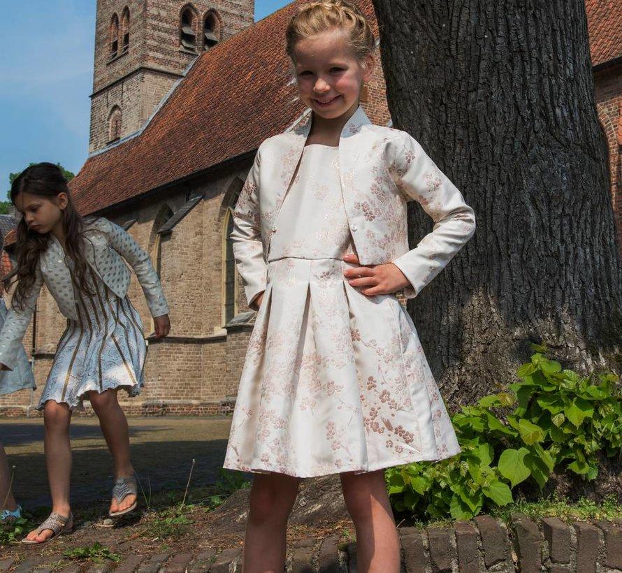 Jasje  off white mulberry silk van Lofff voorjaar 2019
