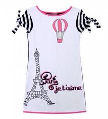LoFff Parijs jurkje  zwart wit