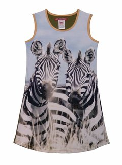 LoveStation22 Jurk  Zebra