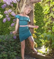 LavaLava Zomerjurk 'Dress for the Stars'  petrol