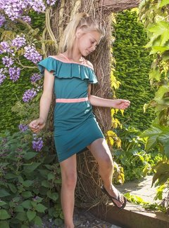 LavaLava Zomerjurk 'Dress for the Stars'  petrol