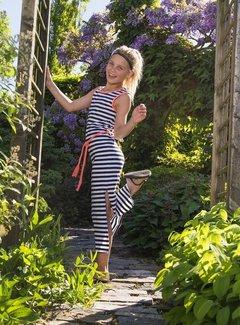 LavaLava Maxi jurk 'Fresh' zwart wit